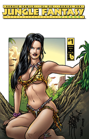 JUNGLE FANTASY: VIXENS #1 KS Century - cover D