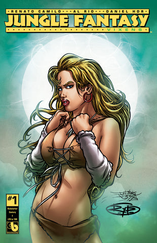 JUNGLE FANTASY: VIXENS #1 KS Century - cover E