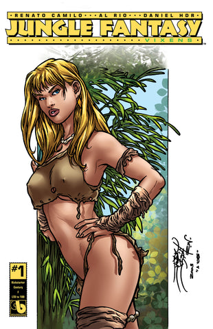 JUNGLE FANTASY: VIXENS #1 KS Century - cover F