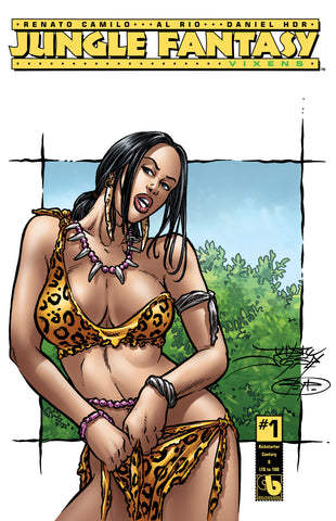 JUNGLE FANTASY: VIXENS #1 KS Century - cover G