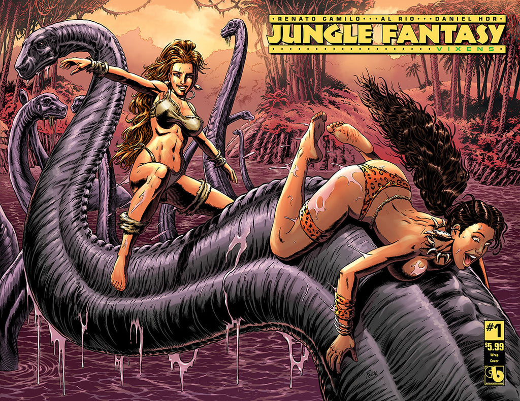 JUNGLE FANTASY: VIXENS #1 Wraparound