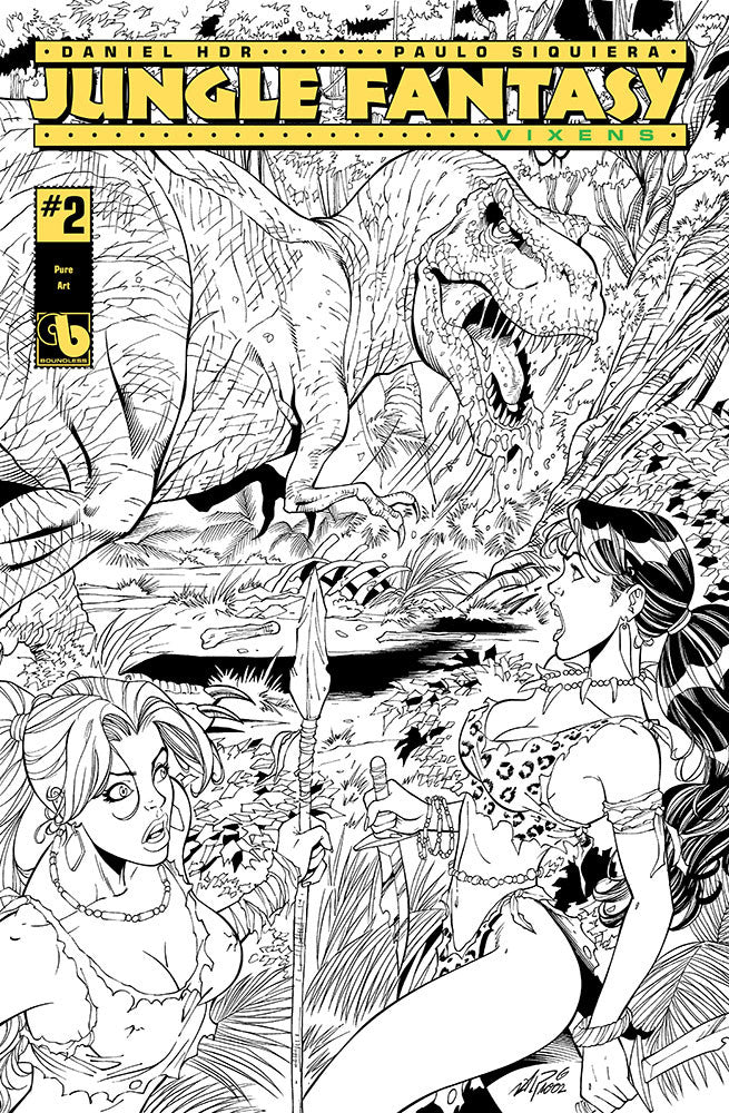 JUNGLE FANTASY: VIXENS #2 Pure Art