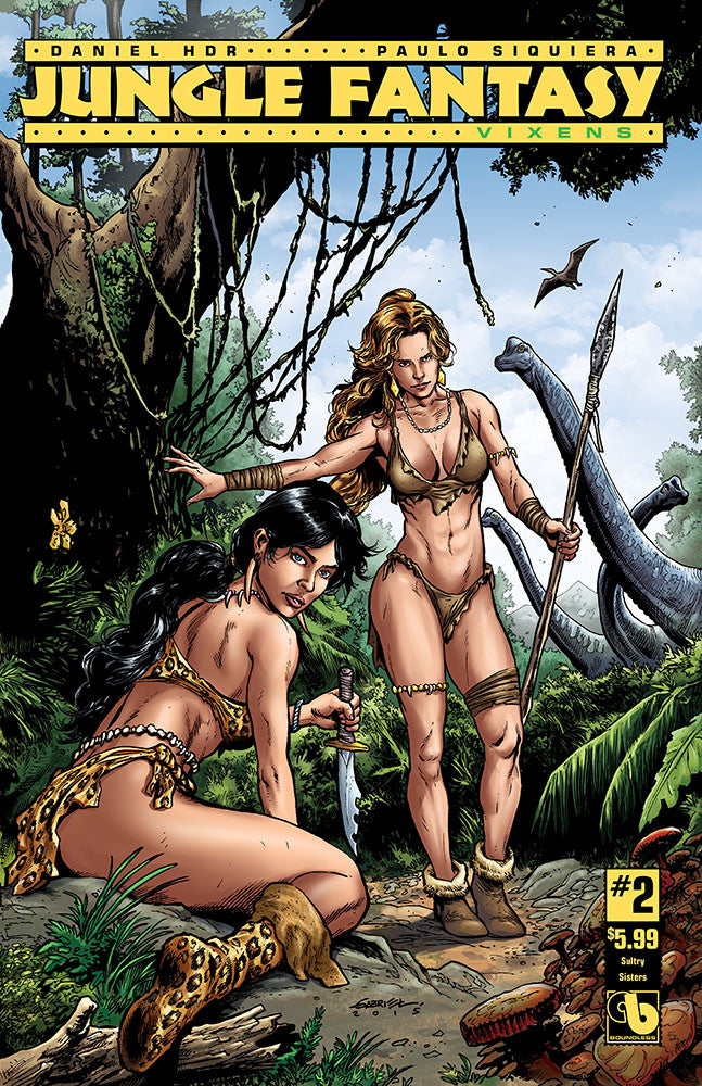 JUNGLE FANTASY: VIXENS #2 Sultry Sisters