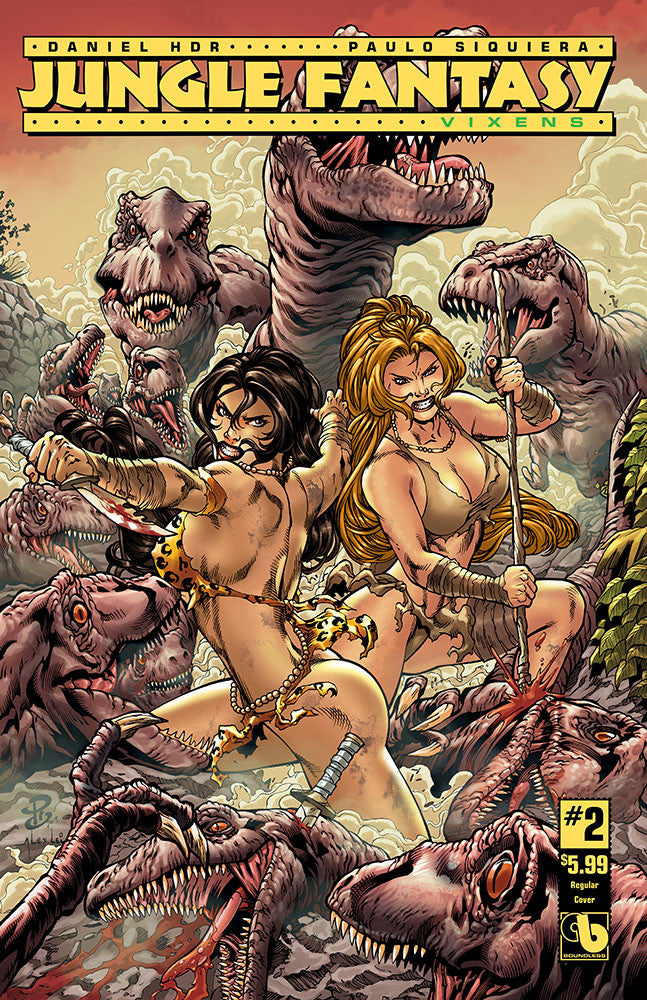 JUNGLE FANTASY: VIXENS #2
