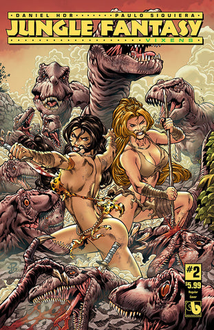 JUNGLE FANTASY: VIXENS #2 - Digital Copy