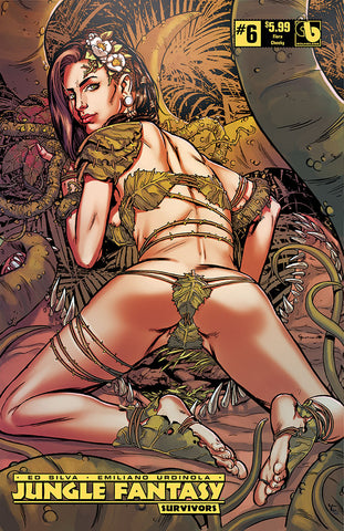 JUNGLE FANTASY: SURVIVORS #6 Flora Cheeky