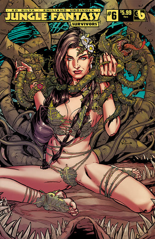 JUNGLE FANTASY: SURVIVORS #6 Flora First Appearance Set (6 books)