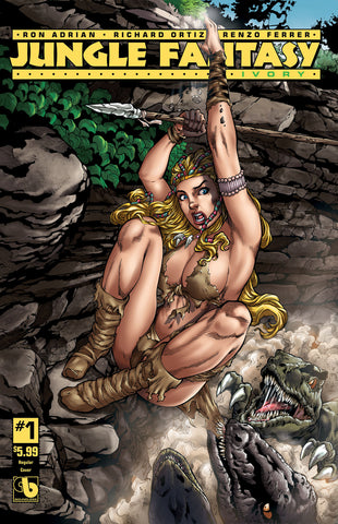 JUNGLE FANTASY: IVORY #1 - Digital Copy