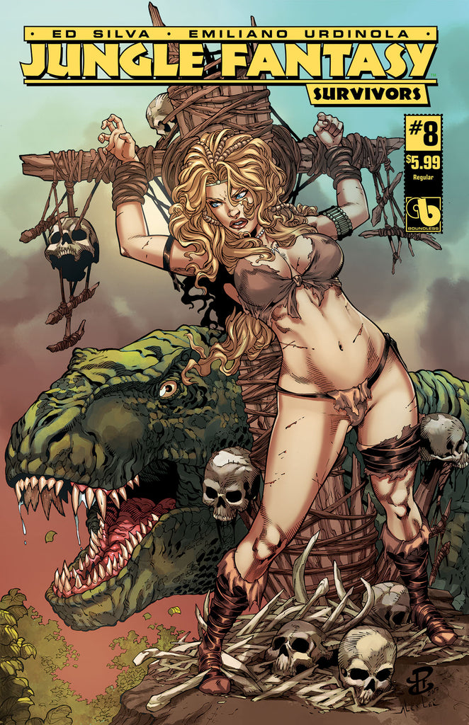JUNGLE FANTASY: SURVIVORS #8 - Digital Copy