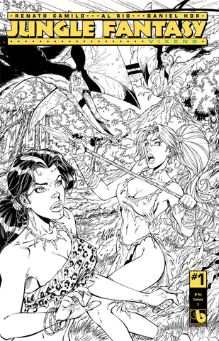 JUNGLE FANTASY: VIXENS #1 Rio Century - cover C