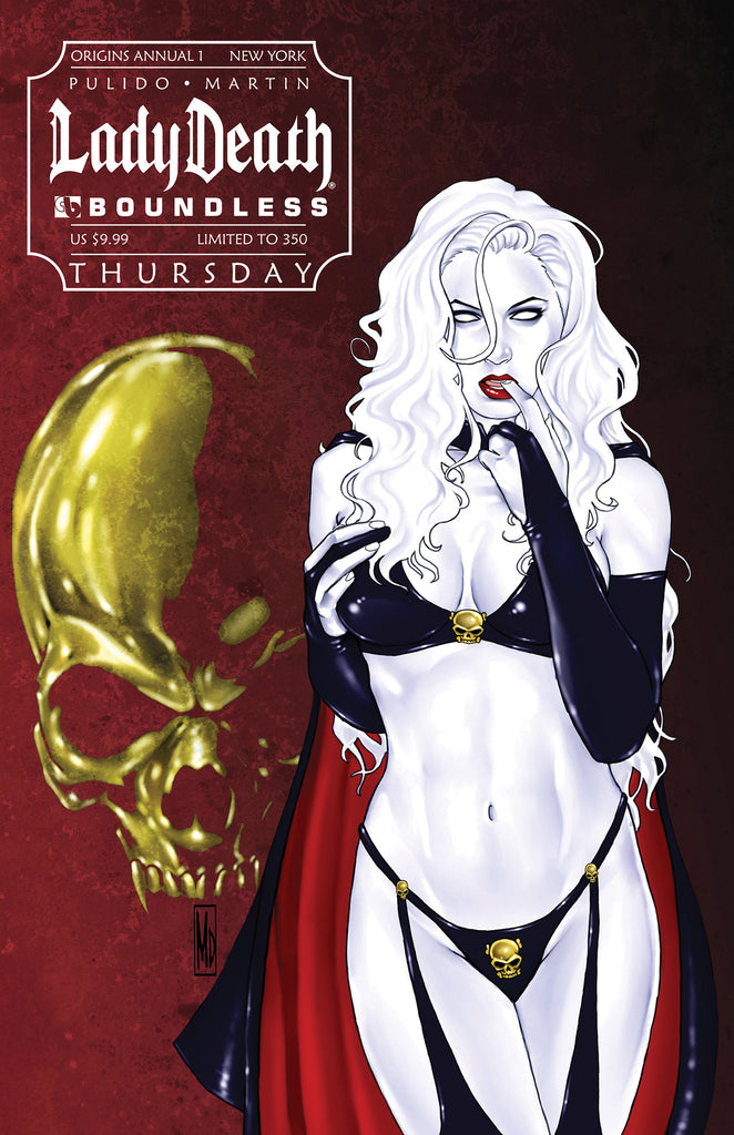 LADY DEATH Origins Annual 1 NYCC Thursday