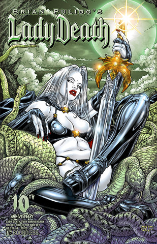 LADY DEATH #1 10TH ANNIVERSARY DELUXE COLLECTOR BOX SET