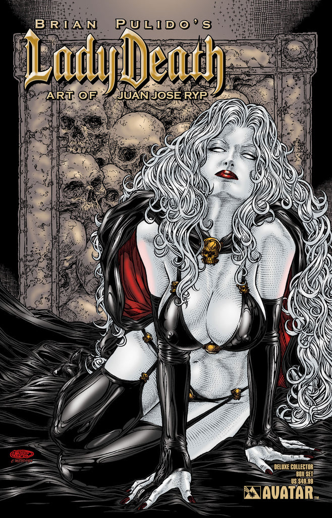LADY DEATH ART OF JUAN JOSE RYP DELUXE COLLECTOR BOX SET