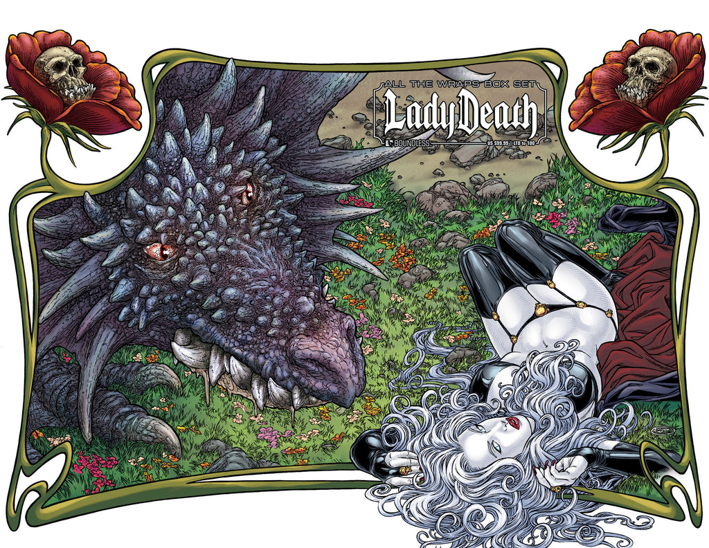 LADY DEATH (ONGOING) - ALL THE WRAPS BOX SET