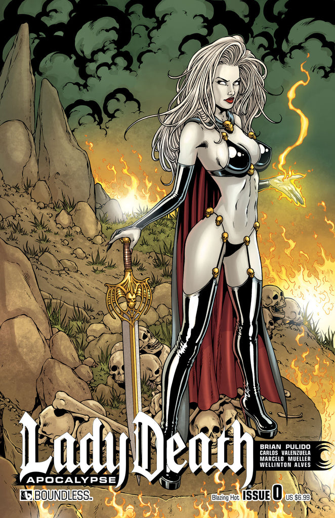LADY DEATH: APOCALYPSE #0 Blazing Hot