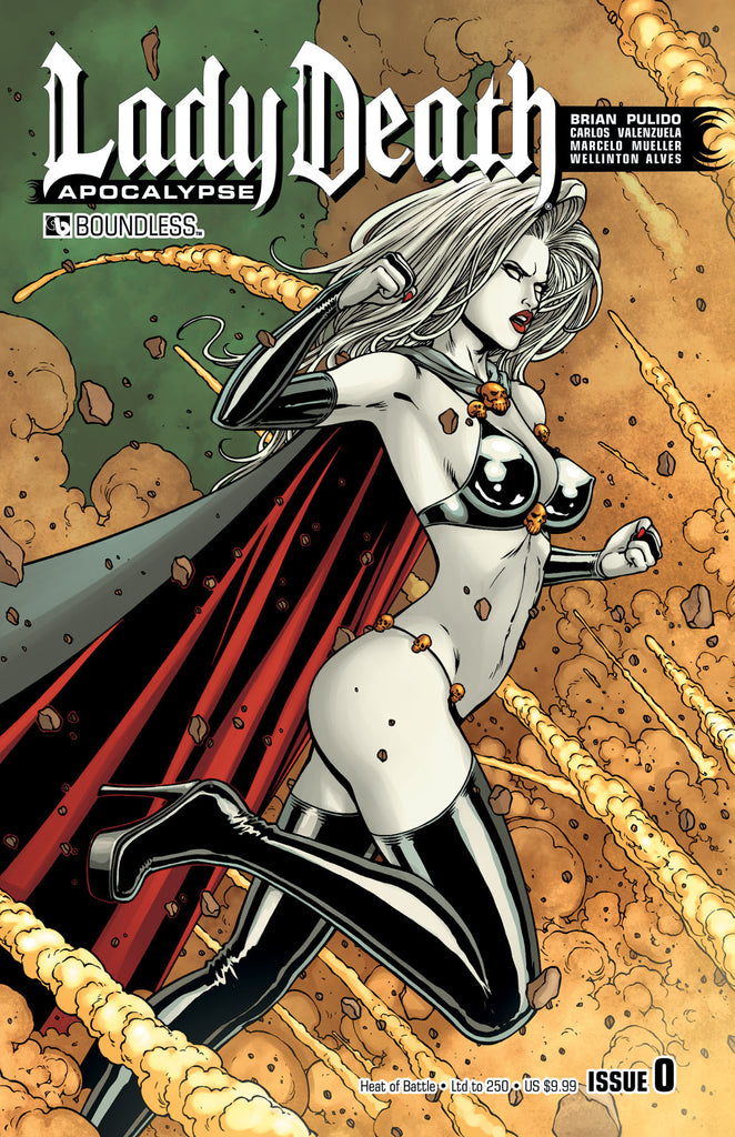 LADY DEATH: APOCALYPSE #0 Heat of Battle