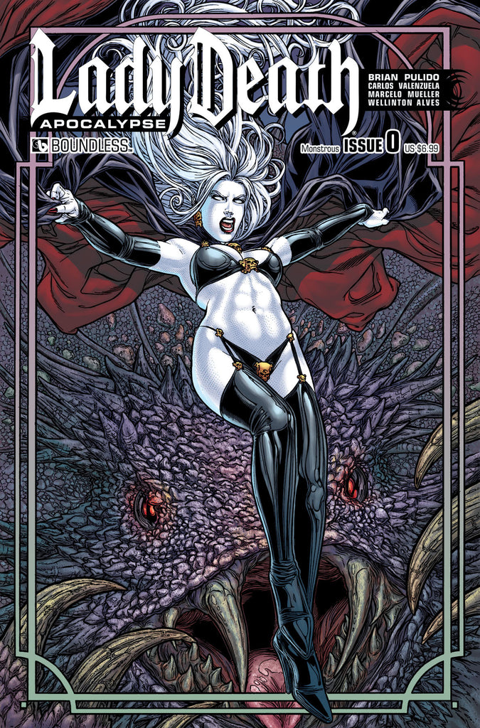 LADY DEATH: APOCALYPSE #0 Monstrous