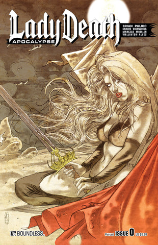 LADY DEATH: APOCALYPSE #0 Painted