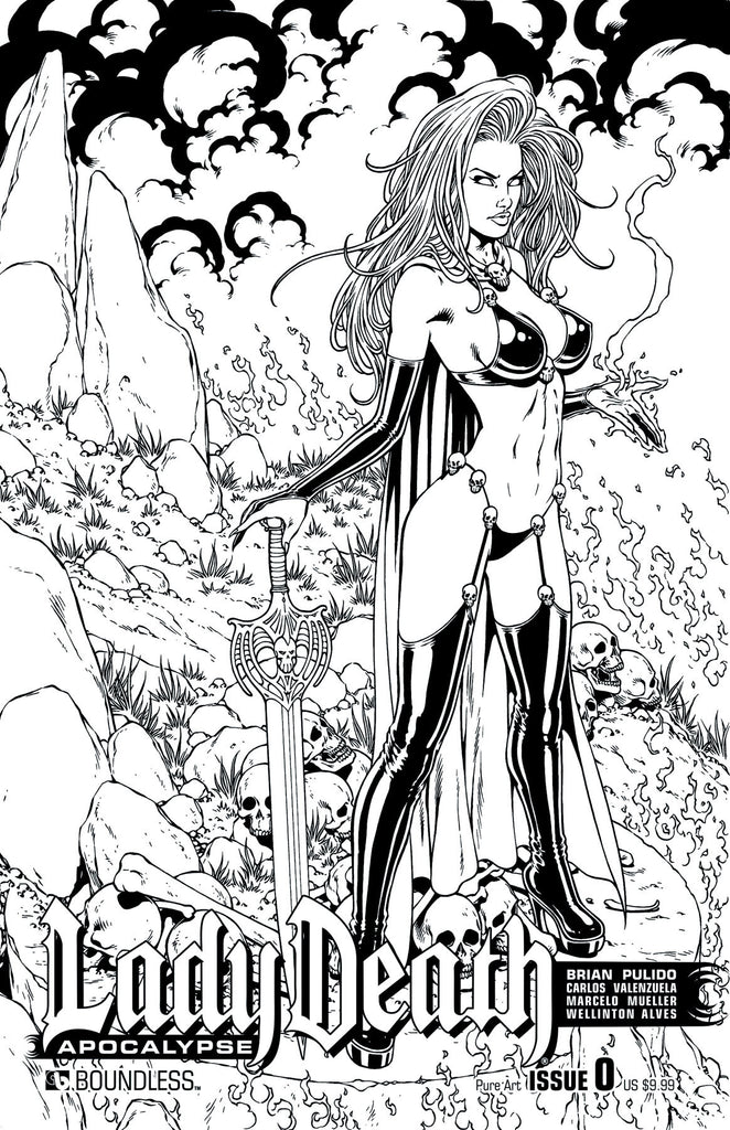 LADY DEATH: APOCALYPSE #0 Pure Art