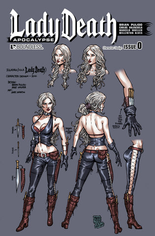LADY DEATH: APOCALYPSE #0 Character Design