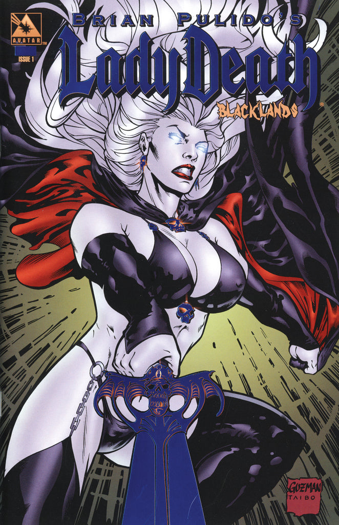LADY DEATH Blacklands #1 Royal Blue