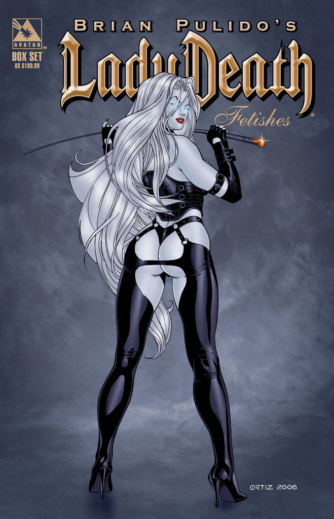 LADY DEATH FETISHES SPECIAL DELUXE COLLECTOR BOX SET