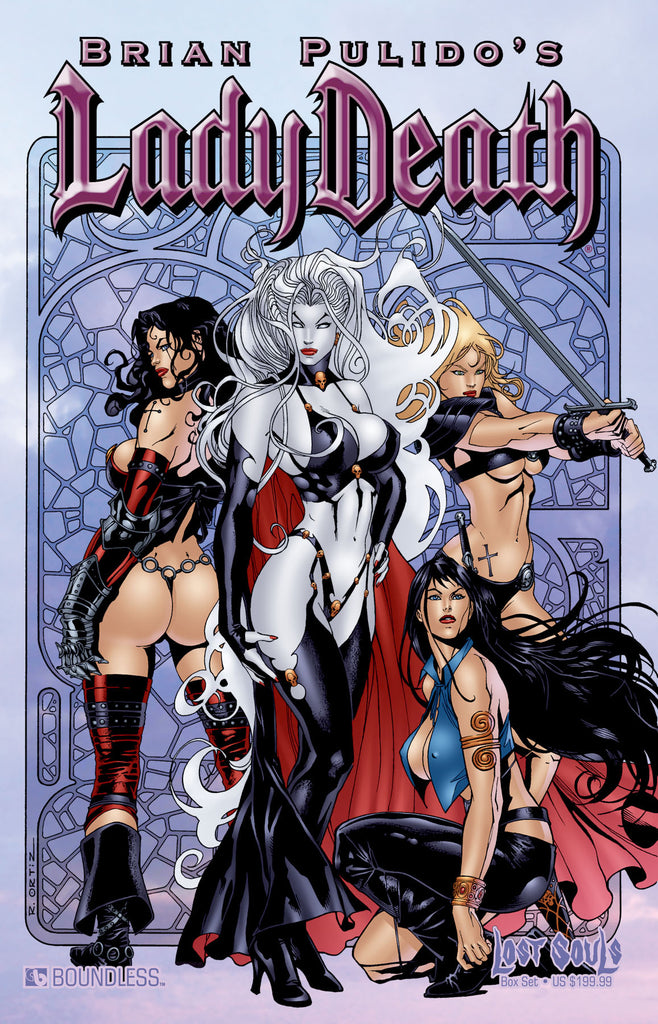 LADY DEATH: LOST SOULS DELUXE COLLECTOR BOX SET