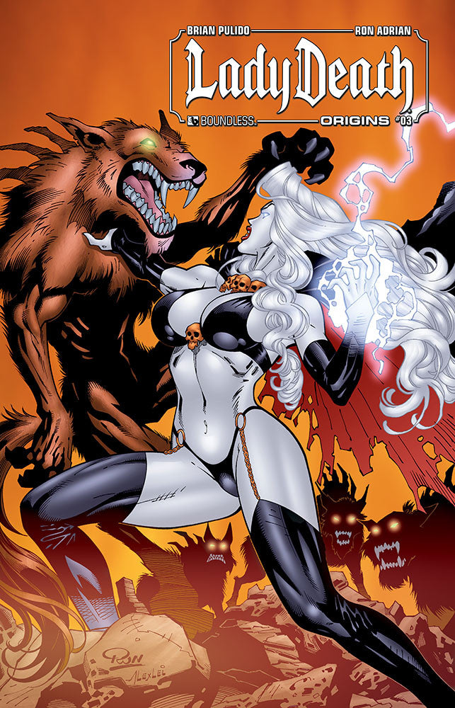 LADY DEATH: Origins #3 - Digital Copy