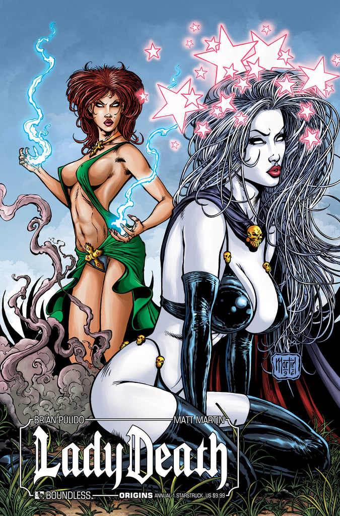 LADY DEATH ORIGINS ANNUAL #1 STARSTRUCK COVER