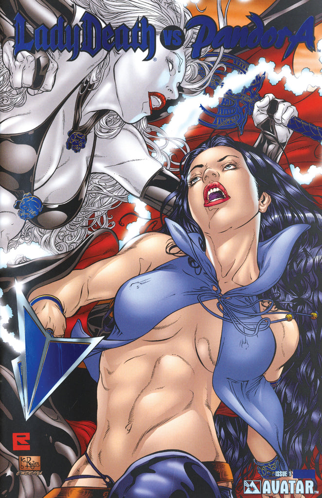 LADY DEATH vs PANDORA Royal Blue