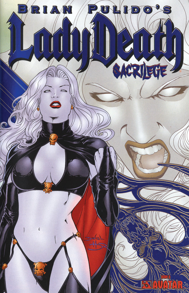 LADY DEATH Sacrilege #0 Royal Blue