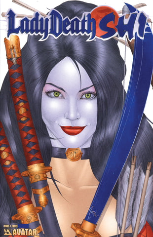 LADY DEATH Shi #1 Royal Blue