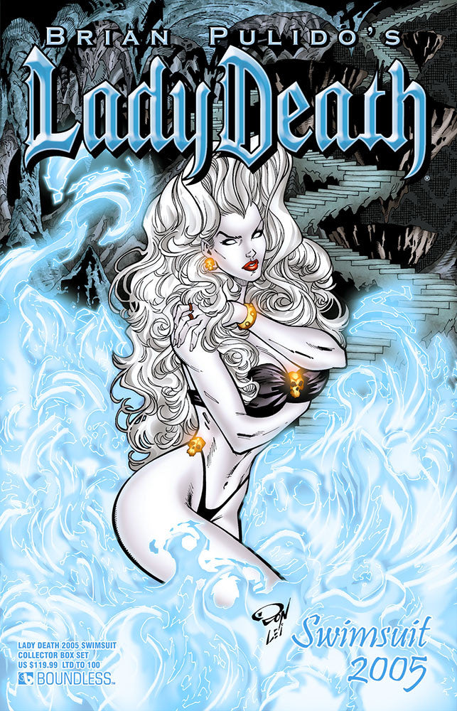 LADY DEATH 2005 SWIMSUIT COLLECTOR BOX SET