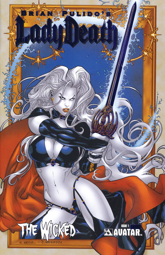 LADY DEATH Wicked #1 Royal Blue