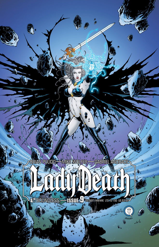 LADY DEATH #9 Detroit Fanfare