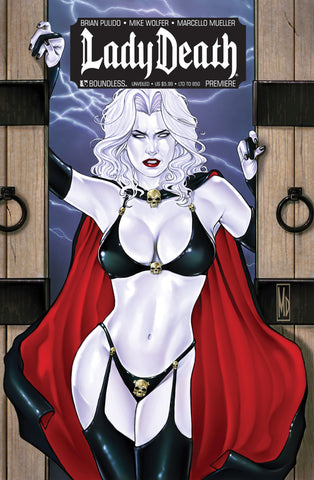 LADY DEATH PREMIERE  Unveiled Edition