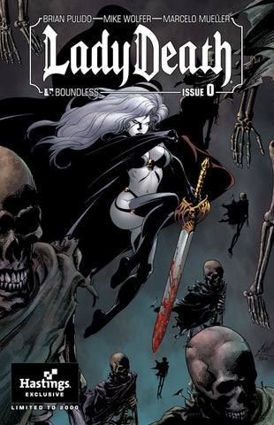 LADY DEATH #0 Hastings