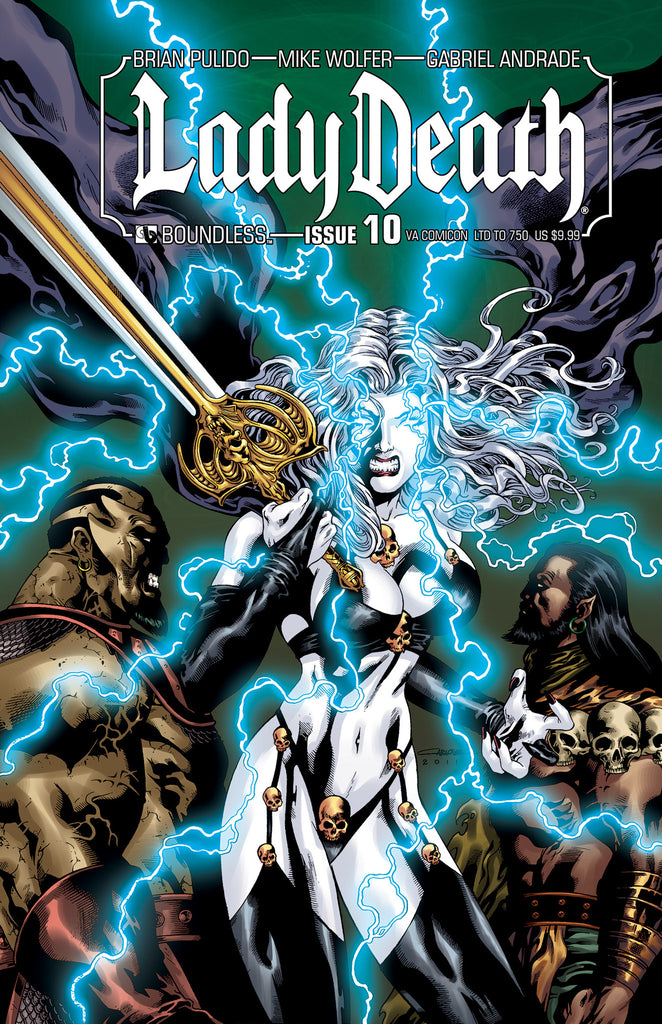 LADY DEATH #10 Virgina Comicon