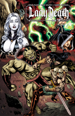LADY DEATH #10 - Digital Copy