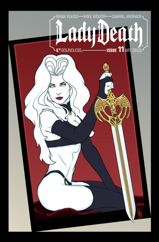 LADY DEATH #11 Art Deco order incentive