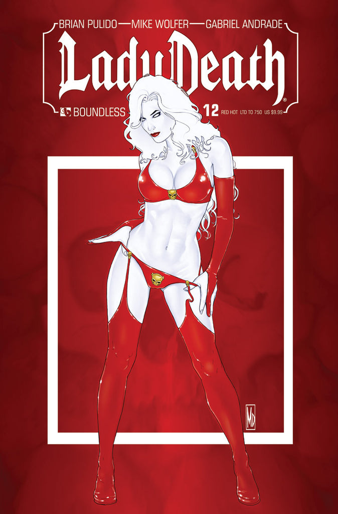 LADY DEATH #12 RED HOT CVR