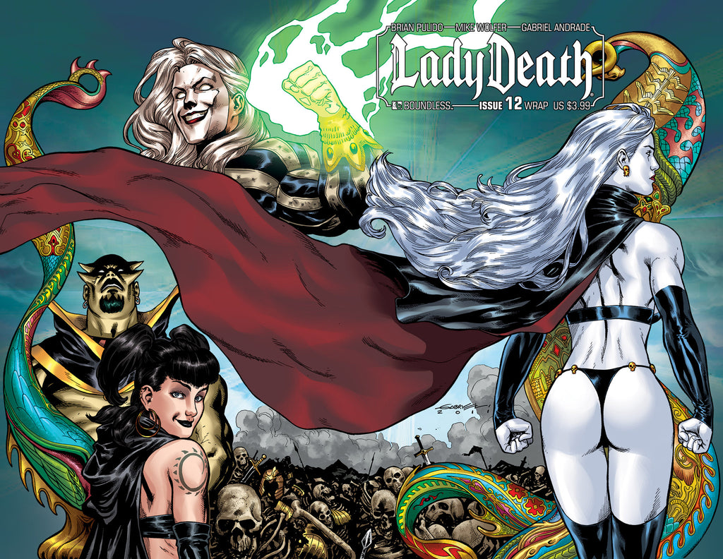 LADY DEATH #12 Wraparound