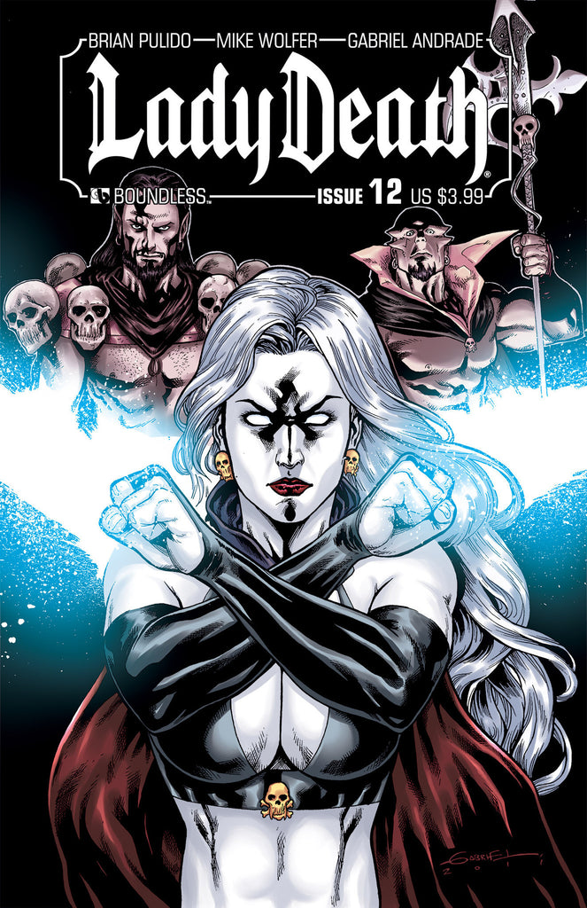LADY DEATH #12 - Digital Copy
