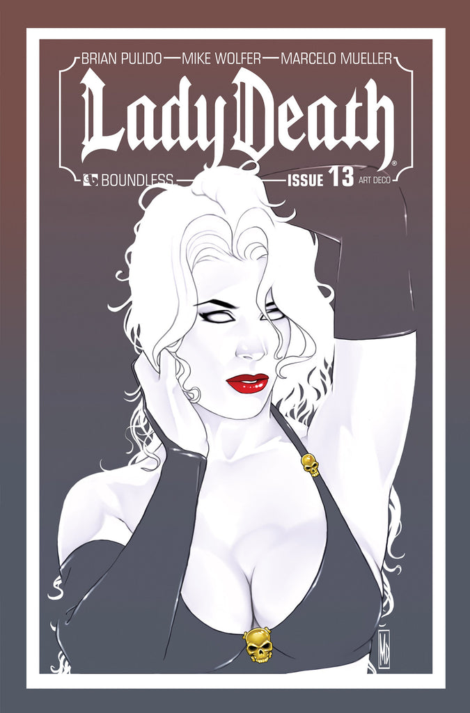 LADY DEATH #13 ART DECO ORDER INCENTIVE