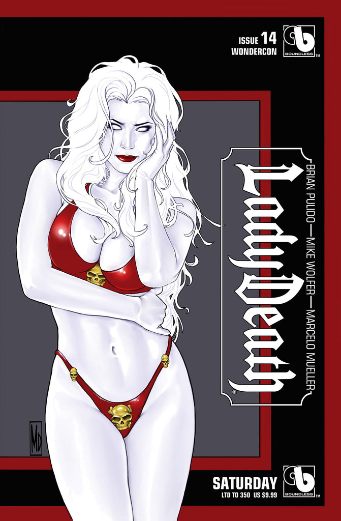 LADY DEATH #14 Wondercon Saturday