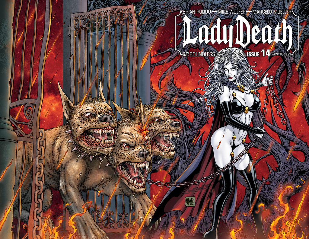 LADY DEATH #14 WRAPAROUND