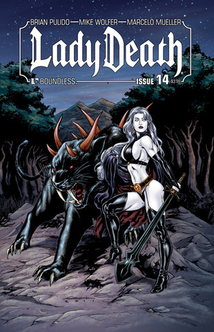LADY DEATH #14 - Digital Copy