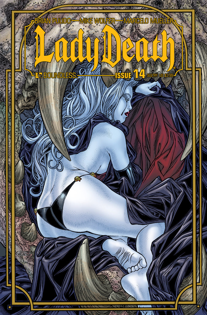 LADY DEATH #14 SULTRY