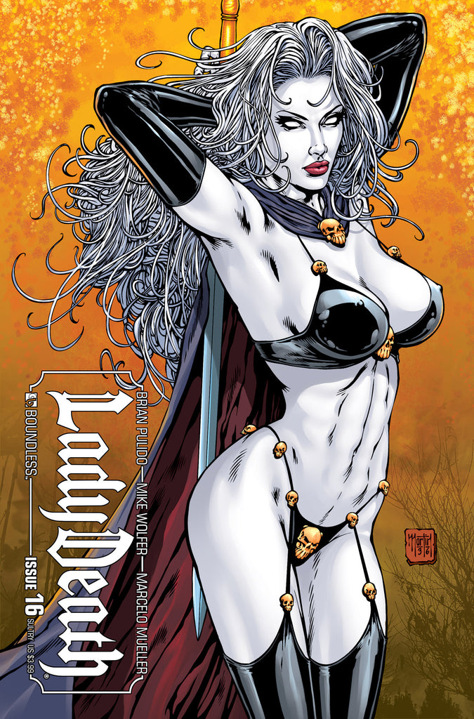 LADY DEATH #16 SULTRY