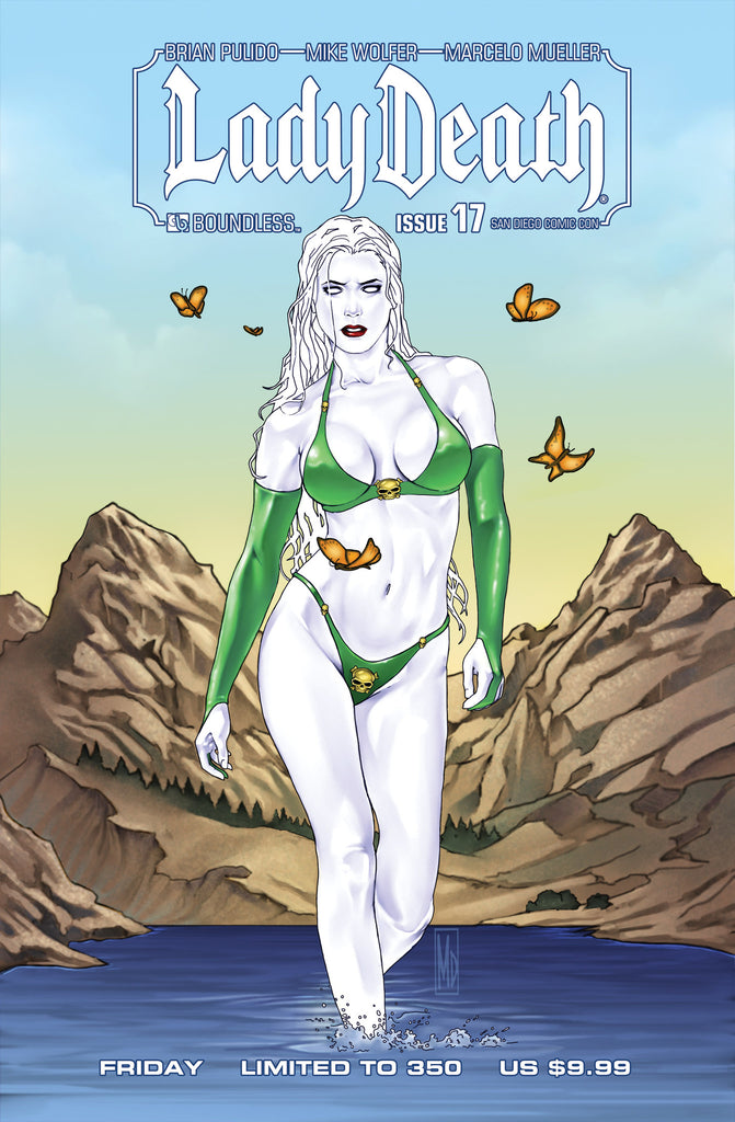 LADY DEATH #17 San Diego Friday